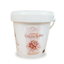 Cocoa Butter 100% Pure & Raw Natural Unrefined from Ivory Coast 10kg