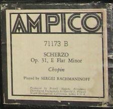 Scherzo - Op 31 - Chopin - Ampico roll no 71173 B