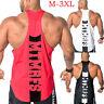 Nuove da Uomo Costume con Muscoli Stringer Bodybuilding Palestra Canotta M-3XL