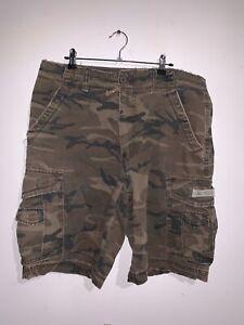 Union Bay Camo Cargo Shorts Size 34