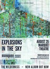 EXPLOSIONS IN THE SKY 2016 PHOENIX CONCERT TOUR POSTER - Post-rock Music