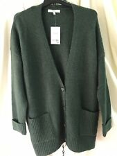 BNWT Bottle Green Next Mens Cardigan Sz L