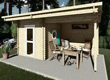 Saunahaus, Gartensauna, Außensauna 5.1x2.4M Sauna 45mm Frankfurt EB45008F28ISOL