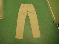 "Vintage 50 Year Wash Pepe Classic Fit Jeans W28"" L32"" Light Beige Mens Jeans"