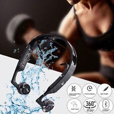 1Pcs Bone Conduction Headphones Wireless Bluetooth 4.2 Noise Headset with Mic
