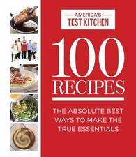 100 RECIPES - AMERICA'S TEST KITCHEN (COR) - NEW HARDCOVER BOOK
