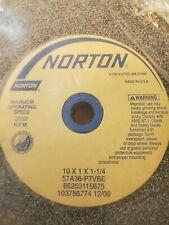 Norton 1011 14 Coarse Grinding Wheel 3250 Rpm