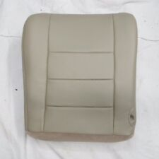 03- 07 Ford F 250-F350-F450 V8 GAS Crew Cab Driver Bottom Leather seat cover TAN