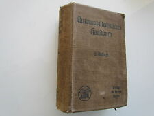 ANTIQUE AUTO BOOK AUTOMOBILTECHNISCHES HANDBUCH FULL PHOTOS + 1 PLAN-1916