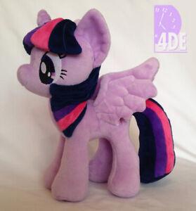 "My Little Pony Twilight Sparkle Plush 11"" 4DE 4th Dimension Big Wings! BRAND NEW"