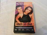 She's All That (VHS, 1999) Freddie Prinze, Rachael Leigh Cook