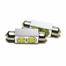 2x AUDI A5 8T3 Bright XENON WHITE SUPERLUX LED Numero Targa Aggiornamento Lampadine