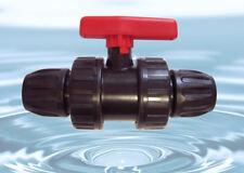 20mm Válvula de bola PN 10 pe-epdm - Conexión PE en calidad superior - #650 WS