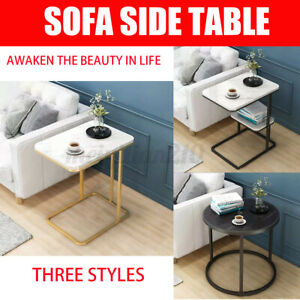 Sofa Side Table End Table Coffee TableSingle/ Double Layer Living Room Home bb