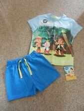 BNWT M&S Boys Jake Neverland Pirates Summer PJ's Nightwear Pyjamas 12-18 months