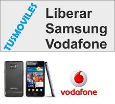 Liberar Samsung GALAXY G3815 S5 S4 S3 SIII VODAFONE EXPRESS 1-6 HORAS