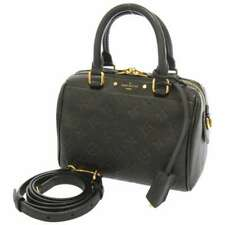 LOUIS VUITTON Speedy Bandouliere 20 NM Monogram Empreinte Noir M42397 Handbag