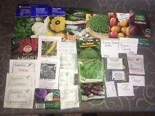 Saatgut Samen Paket Konvolut Gemüse Bio samenfest Kürbis Tomate Paprika Kräuter