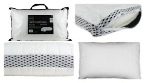 Pocket Sprung Pillow Soft Quilted Cotton Cover Air Flow Pillow Keeps You Cool