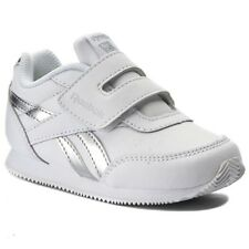 Reebok Infant Royal Classic Jogger Trainers Children Unisex Shoes - White Silver
