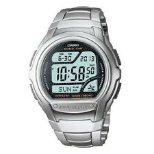 Casio WV58DA-1AV Atomic Digital Watch Silver