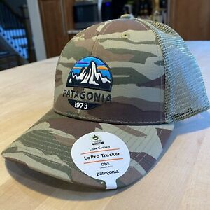 Patagonia Fitz Roy Scope Lopro Trucker Hat - New With Tags - Bear Witness Camo