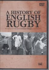 A History of English Rugby DVD - New and sealed