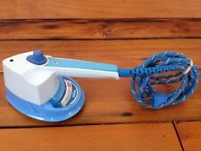 Vintage 60s Sunbeam Steam Retro Stainless Electric Blue Mini Clothes Iron SW-A