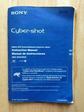 2007 SONY CYBER-SHOT DIGITAL STILL CAMERA INSTRUCTION MANUAL, DSC-W35 / W55