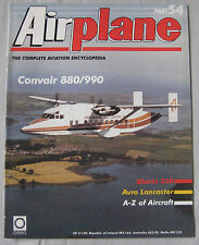 Airplane Issue 54 Convair 880/990 poster, Avro Lancaster Cutaway, Shorts 330