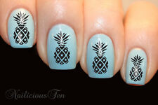 Pineapple Nail Wrap Decal for Natural / False Water Transfer Ananas 21pcs ST8114