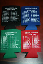 2009 Phish Summer Tour Koozie Coolie Huggie Coozie Poster Shirt Pin Badge Free