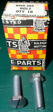 NOS Raleigh Roadster Domed 26 tpi Bolts for Brace Clip,#123385/RMB.385, Free S/H