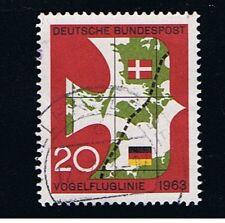 GERMANIA 1 FRANCOBOLLO UCCELLI 1963 usato