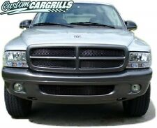 CCG 97-03 DODGE DAKOTA/DURANGO DIAMOND XXL BLACK MESH GRILL GRILLE INSERTS 5 PCS