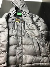 NEW Hawke & Co. Men's Down Feather Fill Coat w/ Removable Hood XL