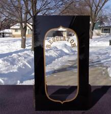 Wall Calendar Regulator Lower Glass Ansonia Gilbert New Haven Waterbury NOS