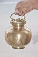 Old Brass Solid Big Unique Shape Handcrafted Holy Water Pot