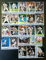 2019 Topps Series 1 & 2 DETROIT TIGERS Complete Team Set (22) MIGUEL CABRERA