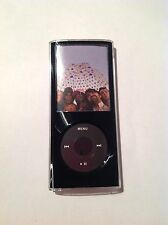 GEAR 4 IceBox Pro Black Metal 4th Generazione Gen iPod Nano Crystal Case + Cordino