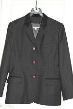 RENE HAZAN Blazer, veste tailleur en pure laine T. 38 (M, T2) FR
