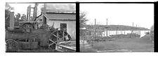 2x Steam Tractor Lake Winnipesaukee CENTER HARBOR NH  35mm Photo Negs 15