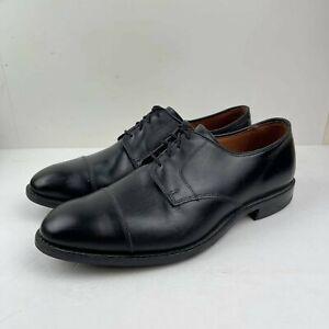 Allen Edmonds Lexington Men's Dress Cap-Toe wide US 11 3E Oxford Black shoes
