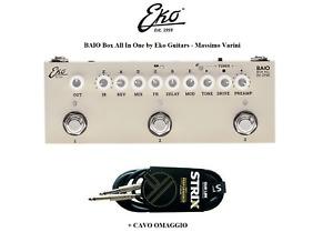EKO BAIO Box All In One by M. VARINI PEDALE MULTIEFFETTO C/ TUNER e IR INTEGRATI