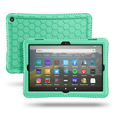 For Kindle Fire HD 8 & HD 8 Plus 10th 2020 Silicone Case Shock Proof Back Cover