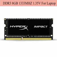 For Kingston HyperX Impact 8GB 16GB 32GB 1333MHz DDR3L PC3L-10600S Laptop RAM