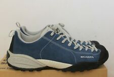 Scarpa Mojito Mens Shoes Hiking Suede Blue Sz 43