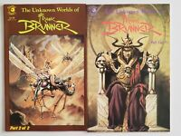 The Unknown 1985 Frank Brunner 1 2 Complete Eclipse Set Series Run Lot 1-2 VF/NM