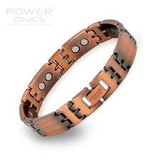 Power IONICS Retro Kupfer 100% Titan mit / stark Magnetarmband Armband