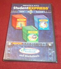 Prentice Hall Student Express Connected Mathematics 2 worksheet CD-Rom NEW